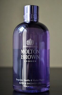 Molton Brown Exquisite Vanilla & Violet Flower Bath & Shower Gel 300ml - NEW