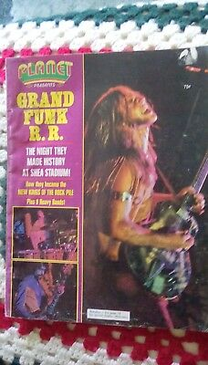 Old Planet Rock magazine. 1971 Good condition. 46 years old.Interesting to read