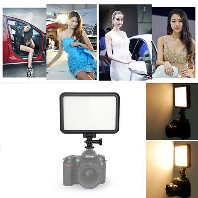 PT-12B 12W Slim Dimmable Bi Color Led Video Digital Camera Light Touch Switch
