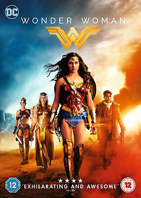 Wonder Woman (DVD) 2017 film Gal Gadot & Chris Pine