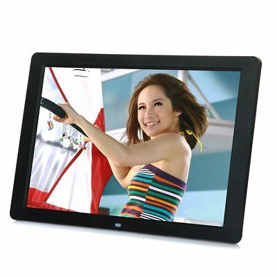 "15"" inch HD LCD Digital Photo Frame Picture MP4 Movie Player Remote Control CL"