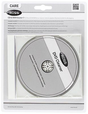 KK225 Ross CKDVD-RS DVD/CD Laser Lens Cleaner