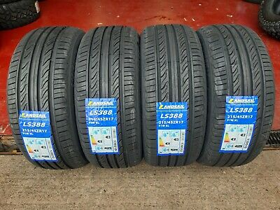 215 45 17 LANDSAIL NEW TYRES  AMAZING * B *  RATED WET GRIP CHEAP x1 x2 x4