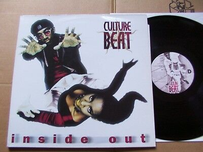 CULTURE BEAT,INSIDE OUT dlp m(-)m-/m- FOC  sony/dance pool 4814041 Germany 1995