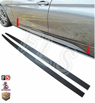 Bmw 4 Series F32 F33 F36 M4 Side Skirt Extension Blades Kit M Performance