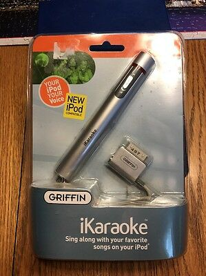 Griffin iKaraoke For iPod Microphone NEW & SEALED