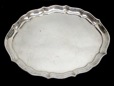 """Gorham (1941) Chippendale Sterling Silver 7 1/2"""" Vanity Tray"""