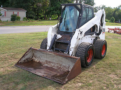 2007  Bobcat  S250  Cab With Heat And Cold A/c  Skid Steer