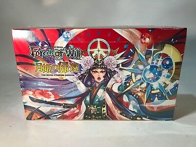 Force of Will FOW TCG The Moon Priestess Returns 36 Pack Booster Box Sealed New