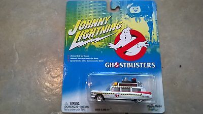 Ghostbusters Action Figure Johnny Lightning Ecto 1 Car Diecast Bnib Gift