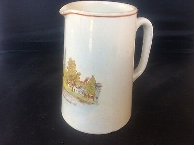 Glasgow Scottish 1938 Empire Exhibition WH GOSS Jug The Clachan Red Rearing Lion