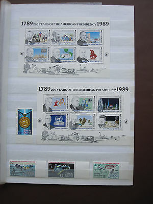 Turks & Caicos Islands - small collection of stamps & miniature sheets