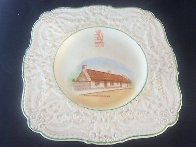 Glasgow Scottish 1938 Empire Exhibition WH GOSS Plate Burns Cottage Alloway Ayr