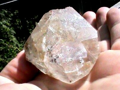 LARGE 128 Grams 48x50 mm ROUGH NY Herkimer Diamond Double Terminated Crystal DH2