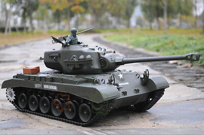 1/16 2.4G RC Henglong Smoke & Sound USA M26 Pershing Tank