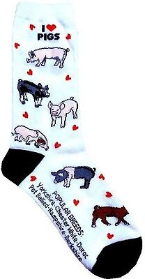 I love Pigs (6602) Women Size Socks