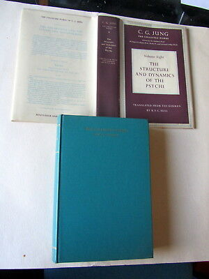 C.G. JUNG THE COLLECTED WORKS v.8 STRUCTURE & DYNAMICS OF THE PSYCHE -HB/DJ 1960