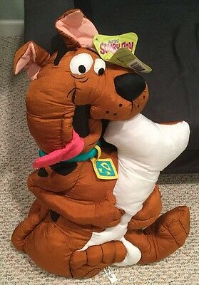 """Scooby Doo Pillow Plush With Tags Nylon 26"""""""