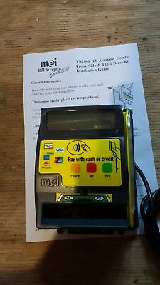 Mars MEI VN 4-in-1 Credit Card mask for dollar bill validators - NFC flat inputs