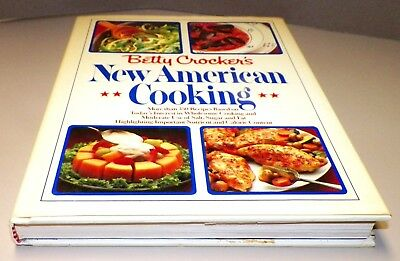 Books, Betty Crocker's New American Cooking Cook Book, Recipes