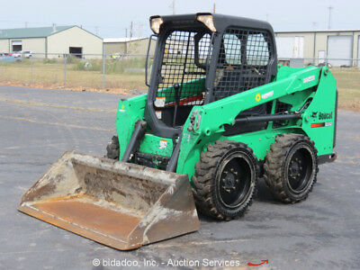2014 Bobcat S510 Skid Steer Wheel Loader Auxiliary Hydraulics GP Bucket bidadoo