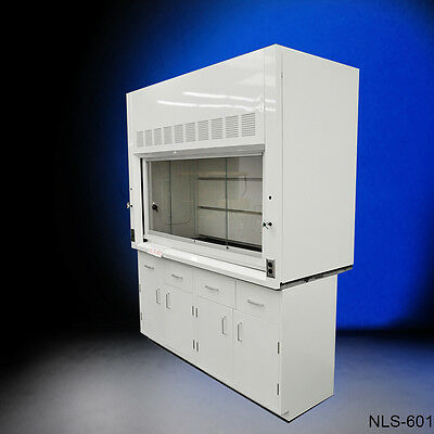 Chemical 6' Fume Hood with Epoxy Top & Cabinets.....NEW-.//-