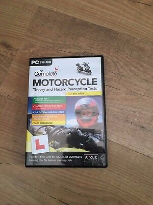 2017 Complete Motorcycle/Motorbike Theory & Hazard Perception Tests PC