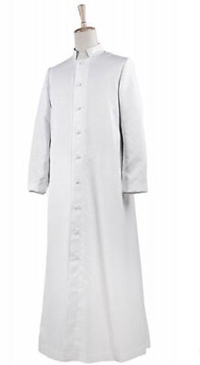 White catholic cassock / cassock for priests & ministers