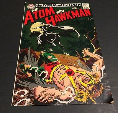 The Atom & Hawkman #43 and #44***Silver Age DC Classic***VERY NICE TWO COMIC LOT