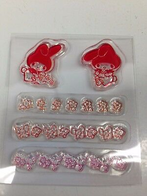 My Melody Clear Stamp Clear Silicone Stamps