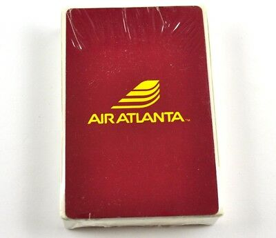 Air Atlanta Airlines USA Spielkarten Flugzeug Airline Playing Cards