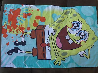 Sponge Bob Pillow Case 2010