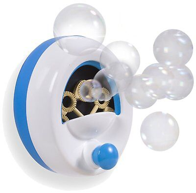 Summer Infant Bath Tub Time Bubble Blower Machine Maker Toy with Solution