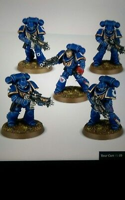 Warhammer 40K Dark Imperium Primaris Space Marine Intercessor B Squad (5 Man)
