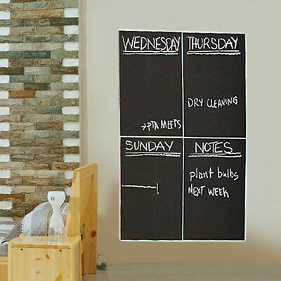 Black Chalkboard Contact Paper Chalk Boards Wall Papers Decals For Kids Baby Art