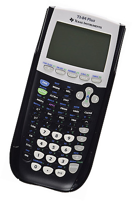 Texas Instruments TI 84Calculator with USB Cable