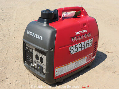 2016 Honda EU2000I 2,000 Watt Portable Generator Power Inverter 120V GenSet
