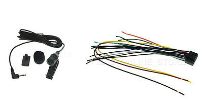 WIRE HARNESS & Mic For Jvc Kdav31 Kd-Av31 *ships Today ... on toyota wiring harness, led wiring harness, automotive wiring harness, kenwood wiring harness, yamaha outboard wiring harness,
