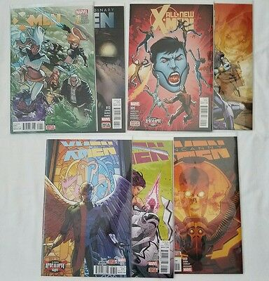 All New Extraordinary Uncanny X-MEN lot - Marvel Comics - 2016 w/Digital Codes