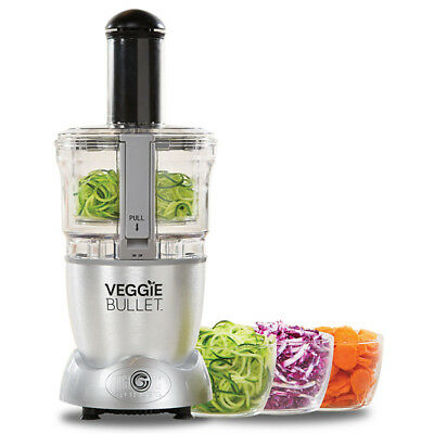 New Veggie Bullet - Electric Spiralizer - Shredder - Slicer - VBR-1007