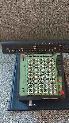 Monroe All-Metal Calculator Adding Machine / Calculator-Parts/as is