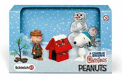 Schleich A Charlie Brown Christmas Scenery Pack