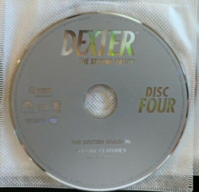 Dexter: Second Season 2 - Replacement DVD - Disc 4 ONLY *Free Shipping*