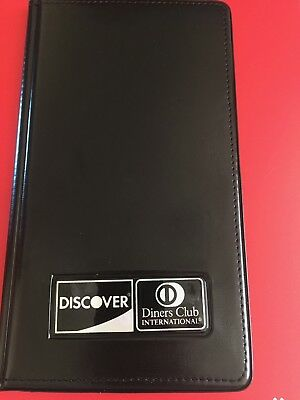 CHECK PRESENTERS, RESTAURANT,  BAR SERVER BOOKS PACK OF 2+Decal - FREE SHIPPING!