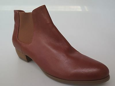 Django & Juliette - new ladies leather ankle boot size 37 #159 *FINAL CLEARANCE*