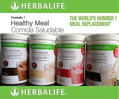 HERBALIFE FORMULA 1 Shake - Healthy Meal - Nutritional - Mix Diet Multi Flavors