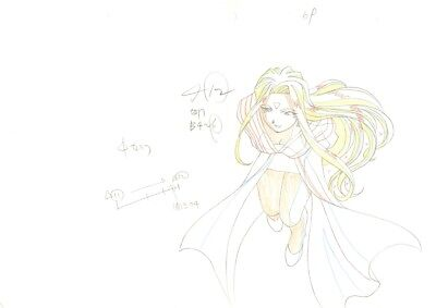 Anime Genga not Cel Ah My Goddess 2 pages #1