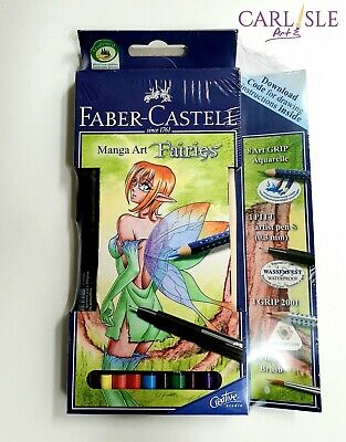 Faber Castel Manga Art Fairies Set