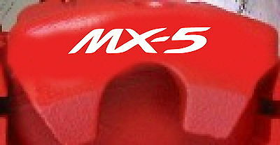 Mazda MX-5 Brake Caliper Decals (8)