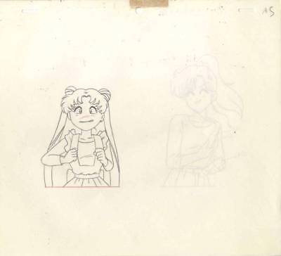 Anime Genga not Cel Sailor Moon 2 pages #1026
